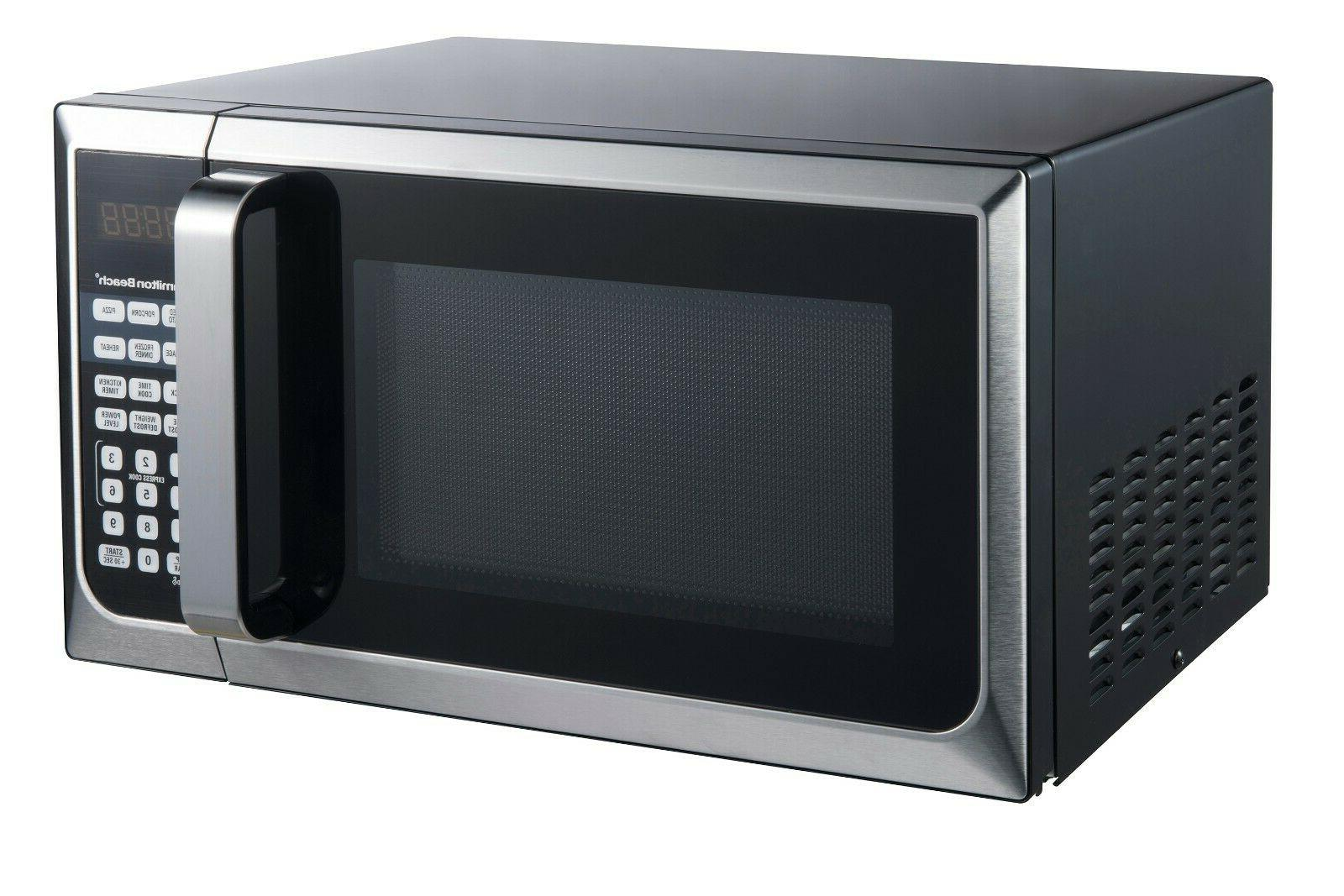 STAINLESS 0.9 Microwave 900W countertop