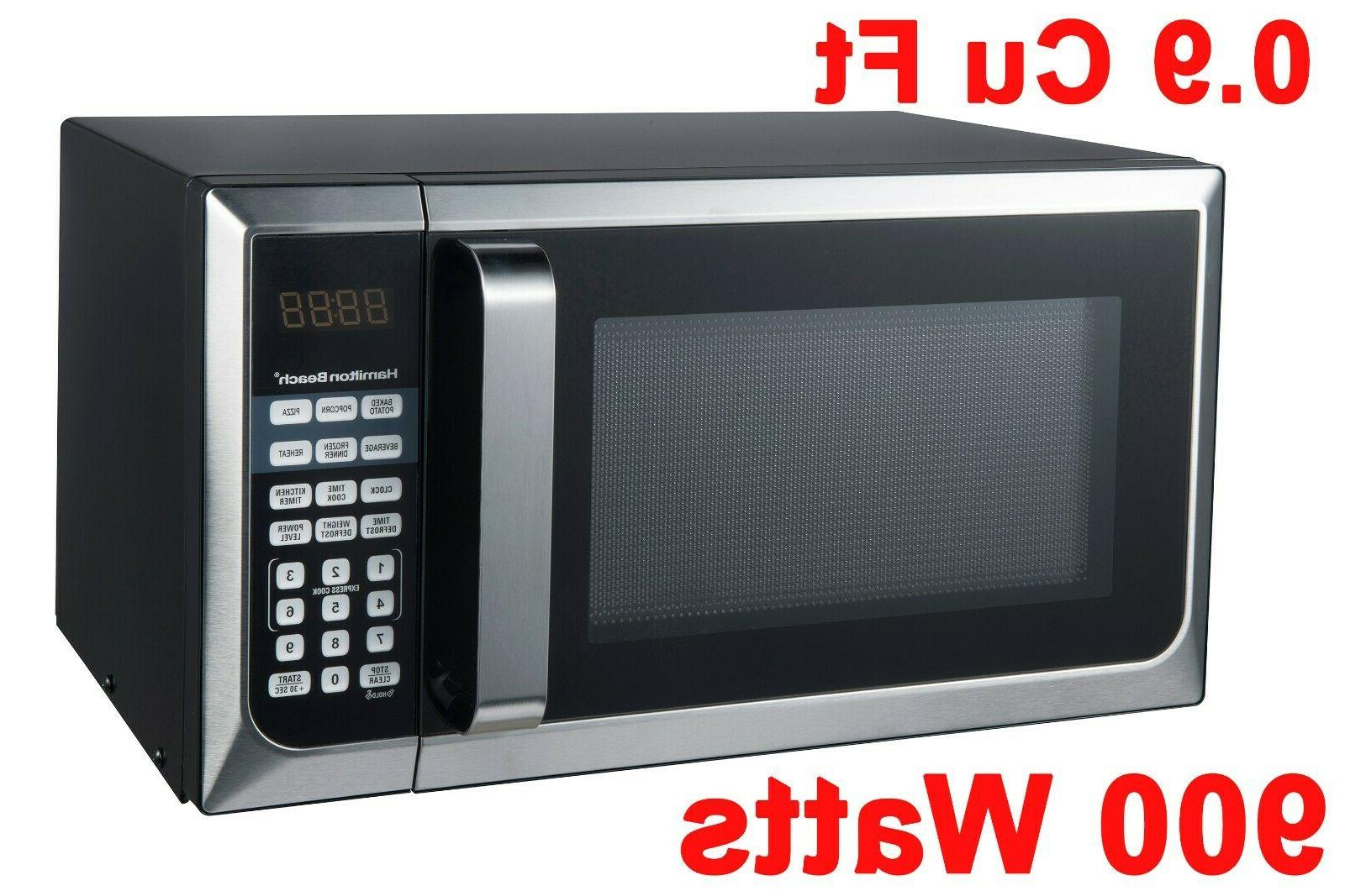 stainless steel 0 9 cu ft microwave