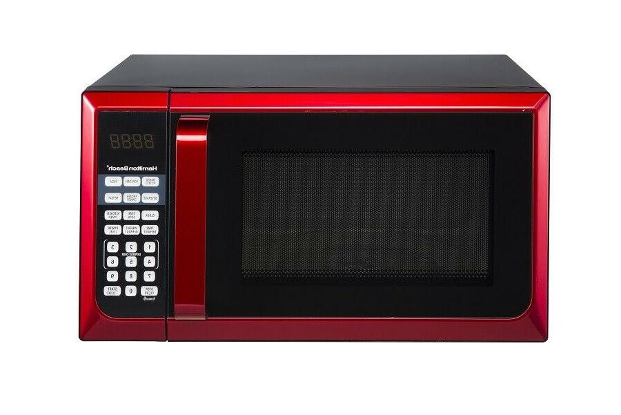 stainless steel 0 9 cu ft red