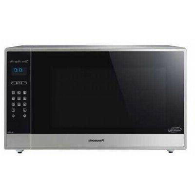 Panasonic 2.2 Cu. Ft. Stainless Steel Countertop Microwave