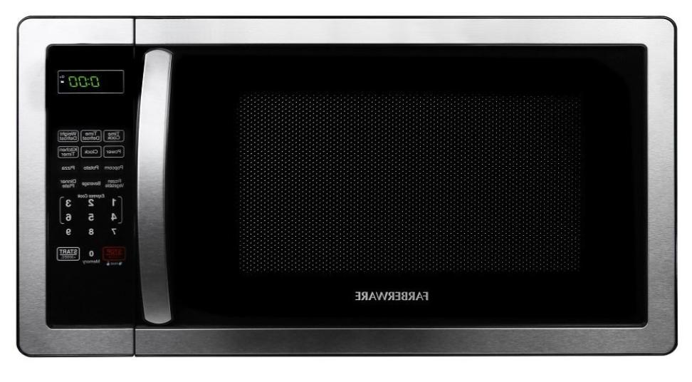 stainless steel microwave oven premium countertop microwaves