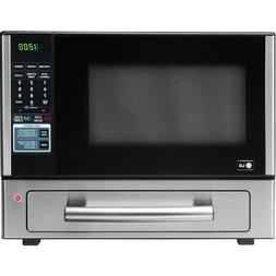 LG LCSP1110ST 1.1 Cu Ft Counter Top Combo Microwave and Baki