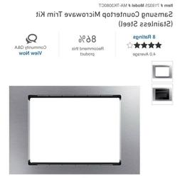 Samsung MA-TK308CT Countertop Microwave Trim Kit Stainless S