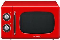 Magic Chef MCD770CR 0.7-Cu. Ft. 700W Retro Countertop Microw