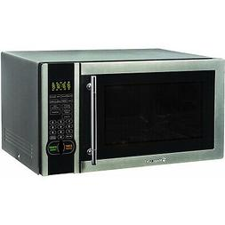 Magic Chef MCM1110ST 1000W 1.1 Cubic Foot Countertop Microwa