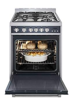 "Magic Chef Freestanding Oven MCSRG24S 24"" 2.7 cu. ft. Gas Ra"