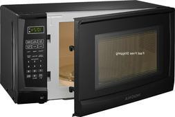 Microwave 0.7 Cu.Ft. Compact Countertop Color Black LED Elec