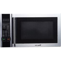 Digital Microwave, Stainless Steel 6 PreProgrammed, 1-touch