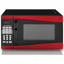 Hamilton Beach 0.9 cu ft 900W Microwave, Red