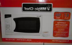 Microwave Countertop in White 0.7 cu. ft. 700-Watts Compact