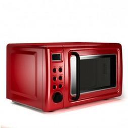 Microwave Glass Turntable Retro Countertop Dorm College Oven