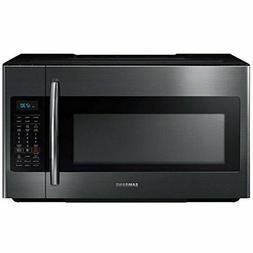 microwave me18h704sfg aa black stainless