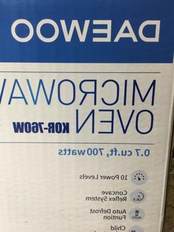 Daewoo microwave oven  0.7cu ft