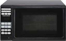 Microwave Oven Black Kitchen Countertop Small Compact Dorm H