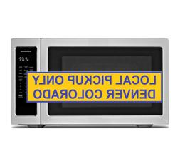 Kitchen Aid 2.2 Cu ft Microwave Sensor Cooking Stainless