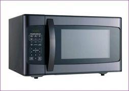 Hamilton Beach 1.1 Cu. Ft. 1000 Watt Microwave, Black Stainl