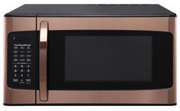 NEW Hamilton Beach 1.1 Cu. Ft. Microwave Oven Copper Rose Go