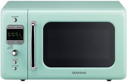 New Daewoo Retro style 0.7 CuFt 700W Mint Green Microwave KO