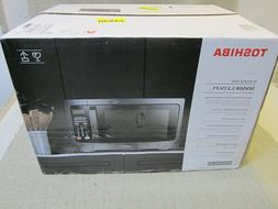 New Toshiba EM131A5C-BS Microwave Oven 1.2 Cu.ft, 1100W