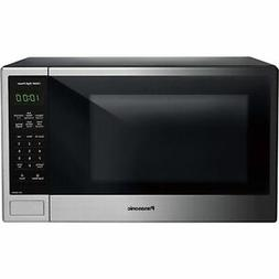 New Sealed Panasonic 1.3 Cu Microwave Oven Stainless Steel 1
