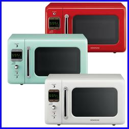 Daewoo Retro 0.7 CuFt 700W Microwave KOR-7LRE