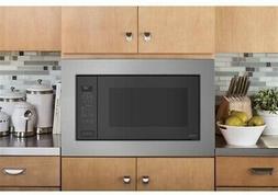"GE PEB7227SLSS 24"" Black Stainless Countertop Microwave NIB"