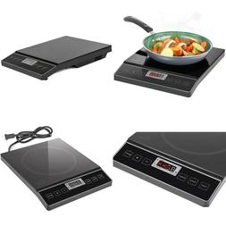 Chef's Star 1800W Portable Induction Cooktop Countertop Burn