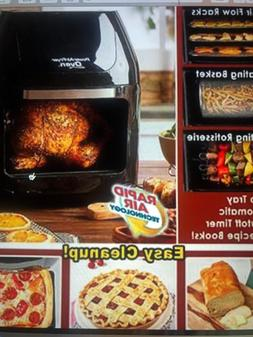 Power Air Fryer Oven Small Kitchen Appliance Microwave Toast