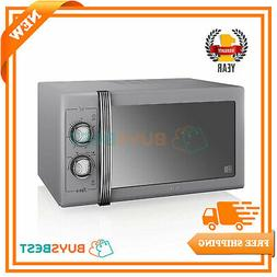 Swan Products Retro 25L Powerful Manual Microwave 900W In Gr