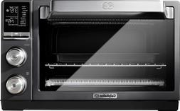 Calphalon Quartz Heat Countertop Toaster Oven, Dark Stainles