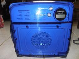 Sharp R-120DB Half Pint Microwave Oven, Blue