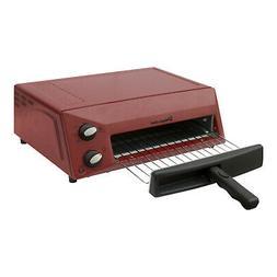 red countertop pizza oven 1300 watt non