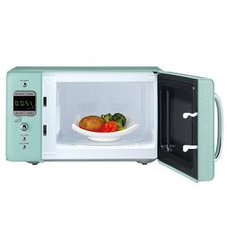 Daewoo Retro 0.7 CuFt 700W Microwave KOR-7LRE  LIGHT GREEN
