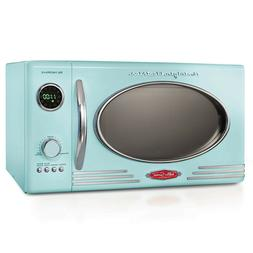 Retro Microwave Oven 800W Countertop Kitchen Cooking Food Le