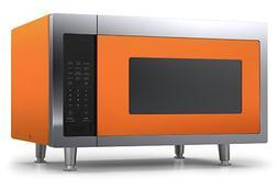 Big Chill Retro Microwave 1.6 cu. ft. 1200 watts Orange