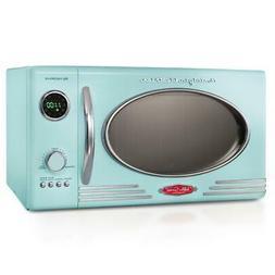 Nostalgia RMO4AQ Retro 800-Watt Countertop Microwave Oven 0.