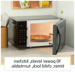 Smart Microwave Oven Countertop Small RV With Child Lock Tur