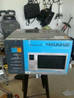 Stainless Steel 1.6-cu ft 1100-Watt Countertop Microwave wit