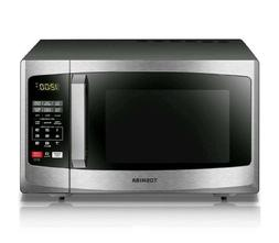 Stainless Steel Countertop Microwave Oven 900 Watt Kitchen D