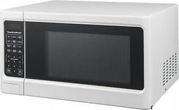 White Steel Digital White Microwave Oven 1.1 Cu. Ft. Home Ki