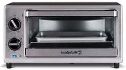 Westinghouse WTO2010S 4 Slice Toaster Oven, 10-Liter Stainle